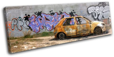 Graffiti Wall Car Urban - 13-0893(00B)-SG31-LO